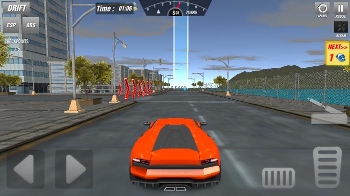 modern car driving图2
