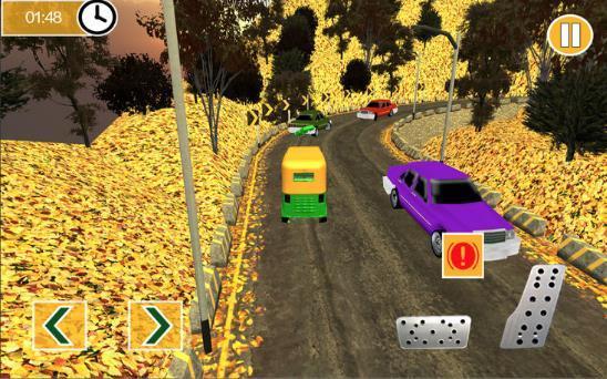 山人力车驾驶模拟图2