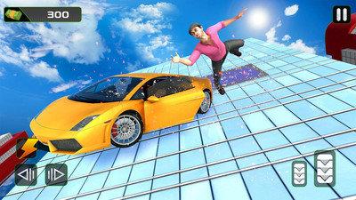 疯狂汽车空中驾驶图1