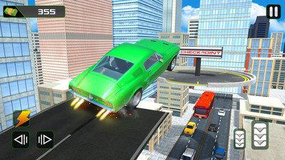 疯狂汽车空中驾驶图2