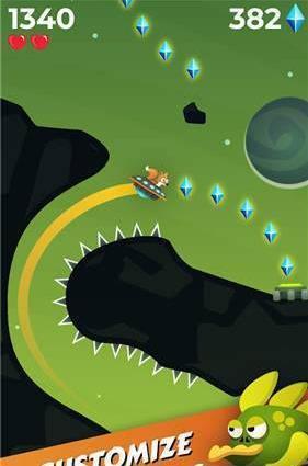 小火狐游太空图3