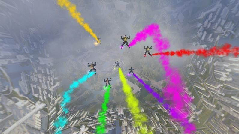军事跳伞吃鸡行动图1