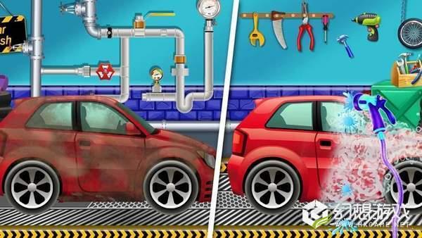 人类疯狂洗汽车图1
