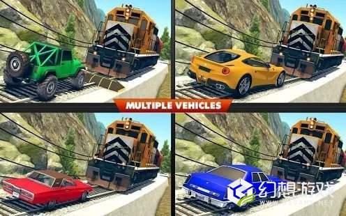 火车与撞车比赛图1