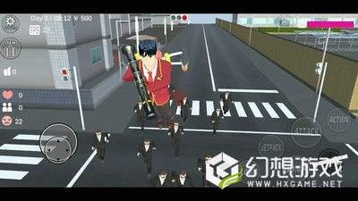 樱花学校模拟器中文版图5