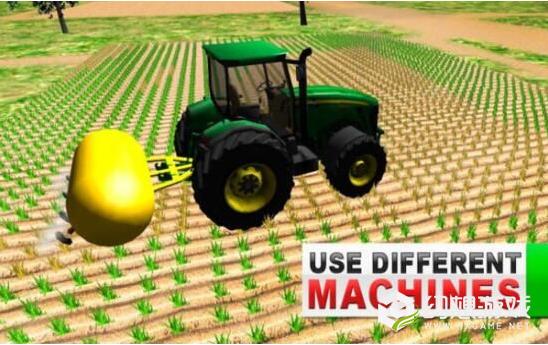 绿色农场拖拉机模拟器图1
