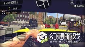 出租车驾驶模拟器3D图1