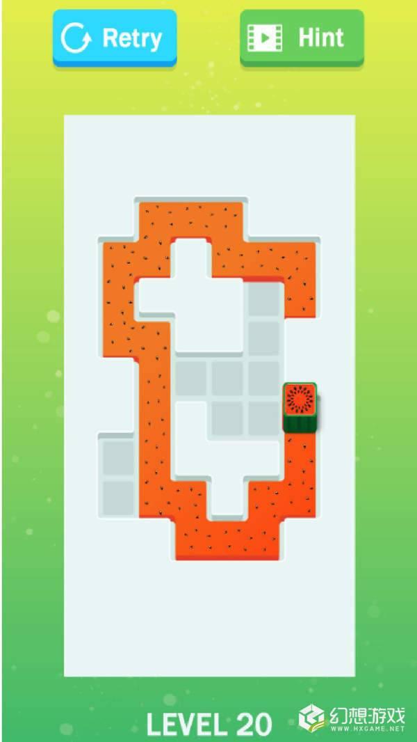 水果滚轮迷宫图2
