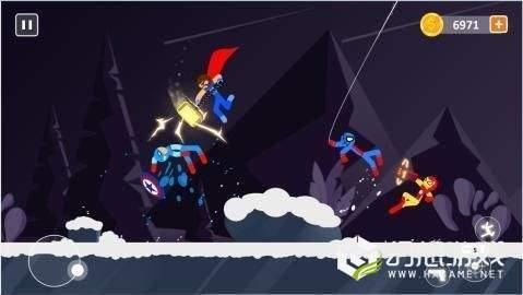 棒影超级战士战斗图2