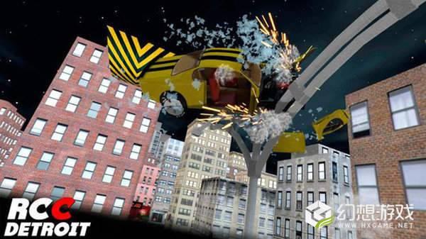 底特律真正的车祸模拟图1