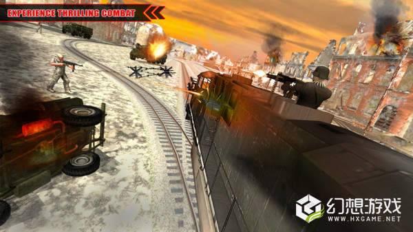 军队列车模拟图3