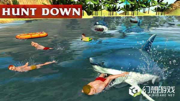 愤怒的白鲨3D图1