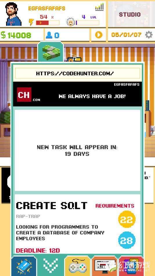 游戏开发模拟器无限资金版图3