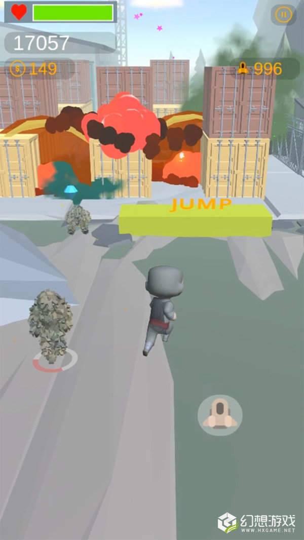 爆炸街道图1