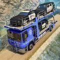 美国警察越野汽车运输卡车司机
