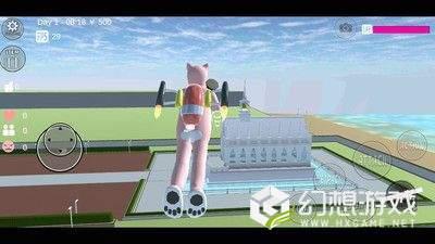 樱花校园模拟器圣诞节版图3