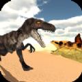 沙漠恐龙猛禽狩猎