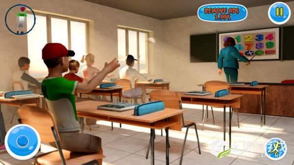 你好恐怖老师3d图1