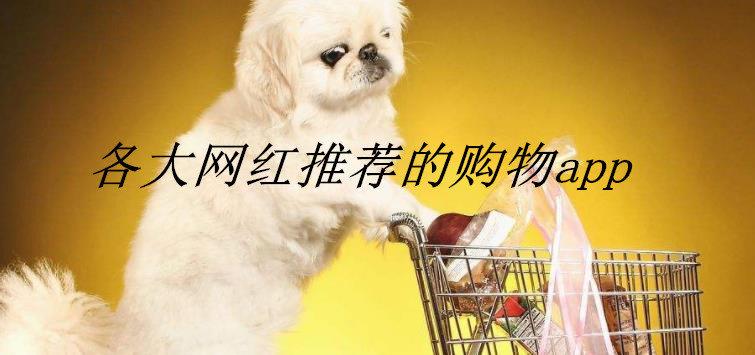 各大网红推荐的购物app
