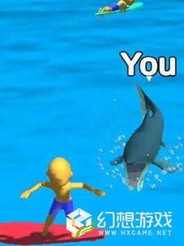 鲨鱼攻击人类图2