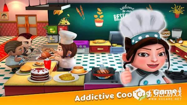 厨师餐厅烹饪图1