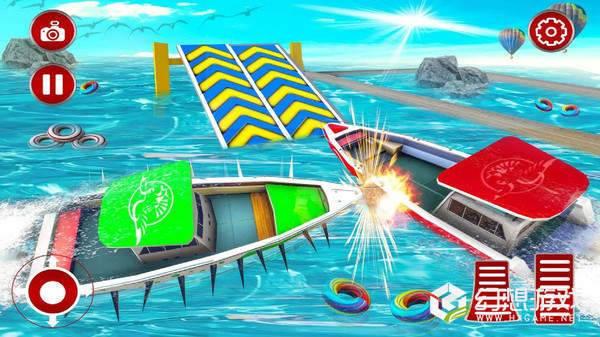 轮船碰撞大作战图1