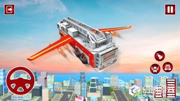 飞行救援卡车图1