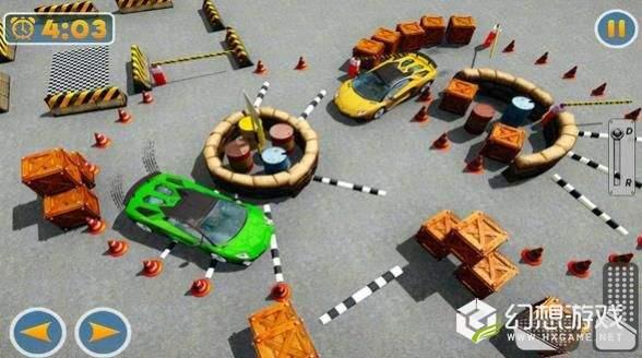 现代停车场3D图1