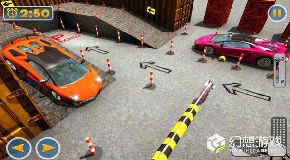 现代停车场3D图2