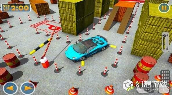 现代停车场3D图3