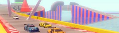 不可能坡道汽车特技赛车图1