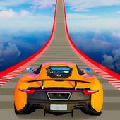 不可能坡道汽车特技赛车
