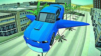 未来飞行汽车模拟器图3