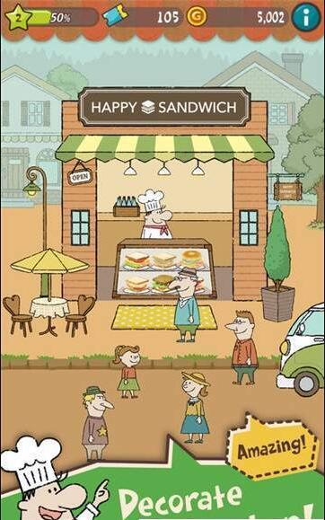 快乐三明治小餐厅图3