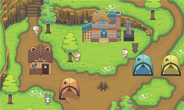 猫林野营图3