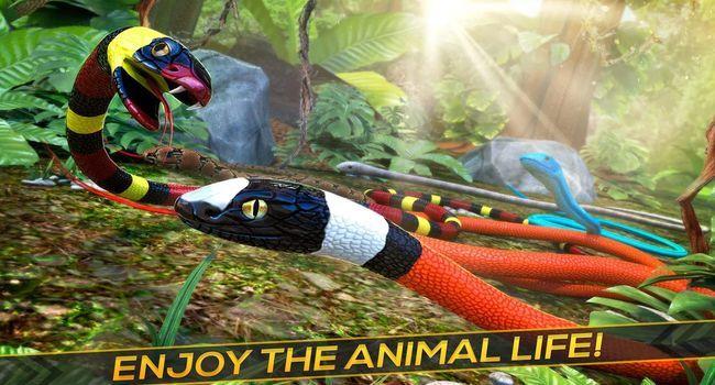丛林蛇生存自由赛跑图1