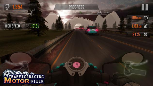 公路赛车摩托骑手图1