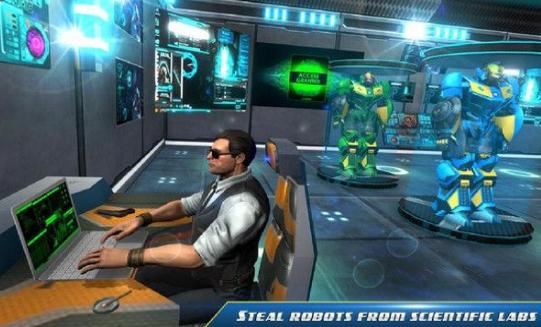 隐形机器人改造汽车图3