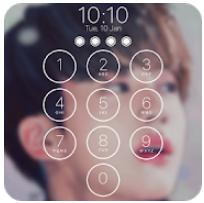 kpop锁屏