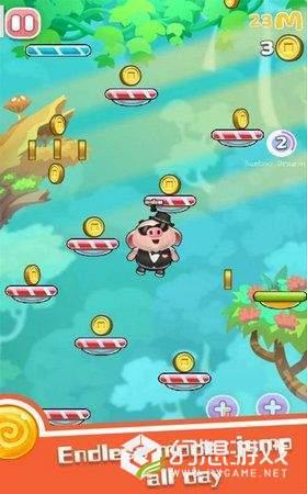 跳跃的小猪图1
