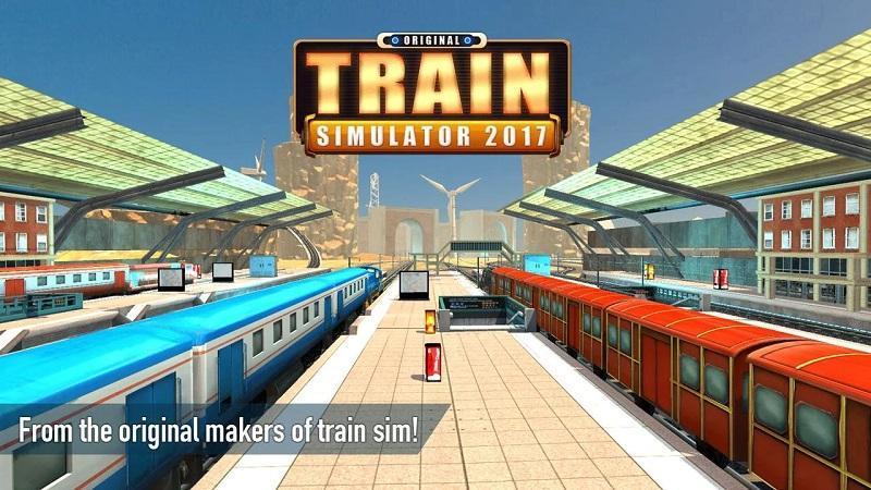 火车驾驶模拟游戏