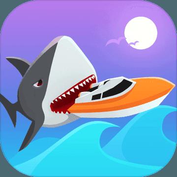 冲浪者与鲨鱼
