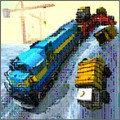 列车运输3D