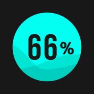 填充66%