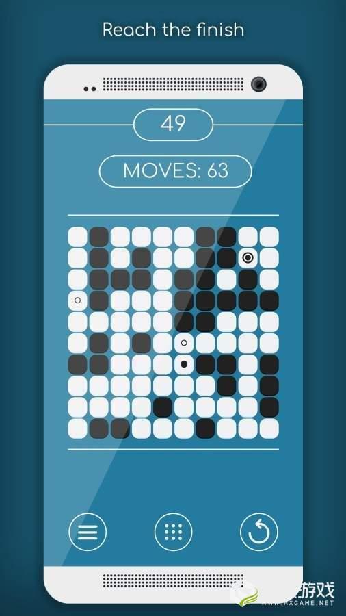 黑白格迷宫图4