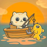 贪吃猫钓鱼