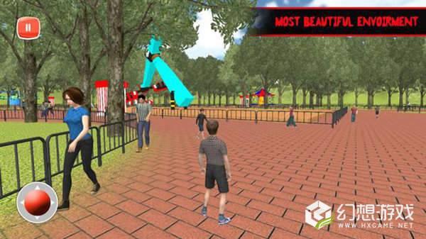 主题游乐园3D图2