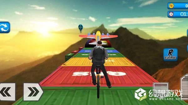 坡道自行车特技图3