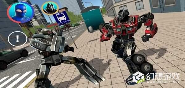 蜘蛛侠钢铁机器人图1