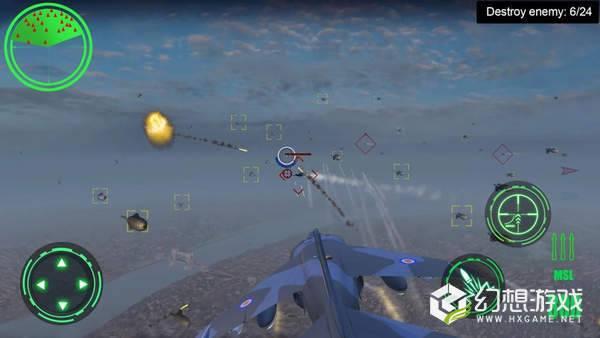 空中战场3D图1